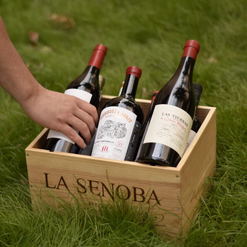 Vinos Rodríguez Sanzo - Pack Caja Madera